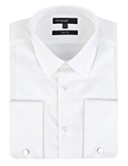Autograph Pure Cotton Slim Fit Dinner Shirt