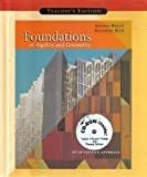 img - for Foundations of Algebra and Geometry: An Integrated Approach, Teacher's Edition by Cathy L. Seeley, Barbara Alcala (1998) Hardcover book / textbook / text book