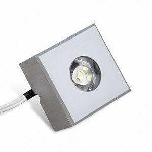 lighting ever square cree led under cabinet lighting puck. Black Bedroom Furniture Sets. Home Design Ideas