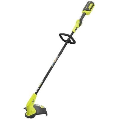 Big Save! Ryobi 40-Volt Lithium-Ion Cordless String Trimmer RY40240 2016 MODEL (battery and charger ...