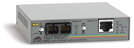 Allied Telesis AT MC102XL Transmetteur 100Base-FX, 100Base-TX externe