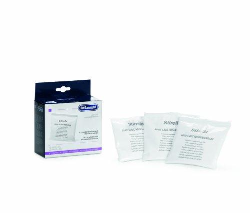 DeLonghi Regenerationsgranulat für Filterkartusche für VVW-1800er Serie Dampfbügelstationen, 5512.810681, 3er Pack