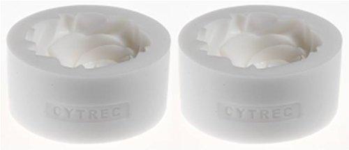 CYTREC 『バラの形の氷を作る製氷器』 シリコーン製の型でバラの形の氷が作れる製氷器 【2個セット】