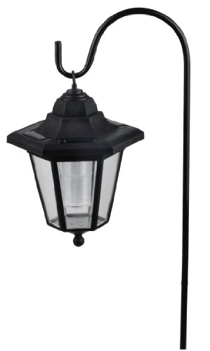 Hanging Solar Coach Lights - Solar Hanging Tree Lamps and Path Lights - Set of Two (2) Lights