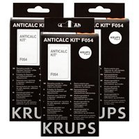Krups F054 Anticalc Lime Descaller Kit 3 Pack from Krups