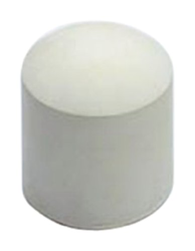 19mm Chair Floor Protector Ferrule - White (pack Of 8) By Bulk Hardware