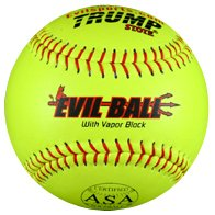 Evil Ball ASA HOT .44 Cor .375 Comp Yellow by Evil Sports