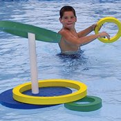 Nordesco Swimming Pool Deluxe Ring Toss Game Sports Outdoors