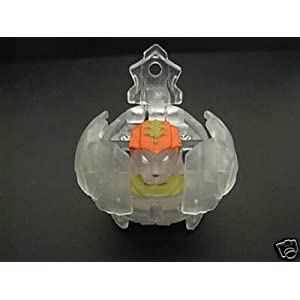 Bakugan BakuClear Translucent LOOSE Tigrerra with 580G Power!