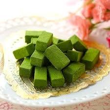 Kyoto Green Tea - Green Tea Fresh Cream Chocolate And Matcha Cappuccino -