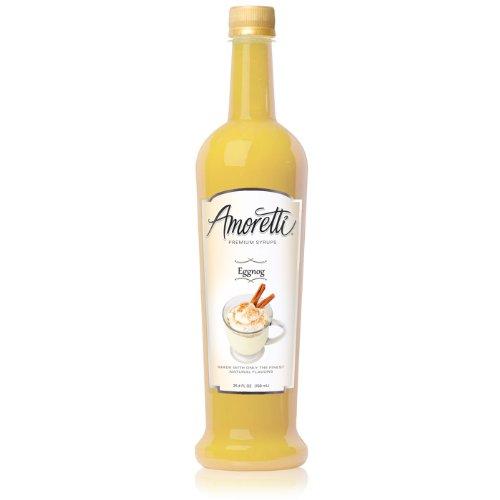 Amoretti Premium Syrup, Eggnog, 25.4 Ounce