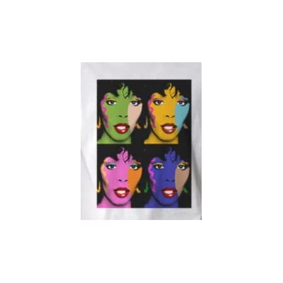 Amazon.com: 4x Donna Summer - Pop Art Graphic T-shirt (Men's XLarge)