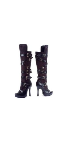 Boots Bandit Black - Women Costume Accessory
