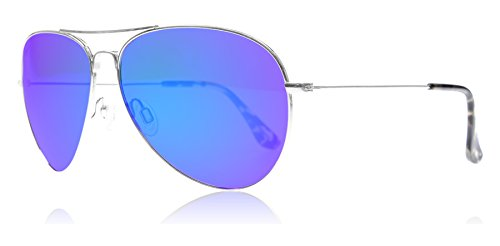 maui-jim-b264-17-silber-mavericks-aviator-sunglasses-polarised-lens-category-2-lens-mirrored