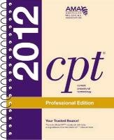 CPT Professional 2012 (Spiralbound) (Current Procedural...