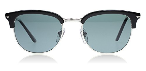 Persol Sunglasses (PO3132S) Black/Blue Acetate - Polarized - 51mm
