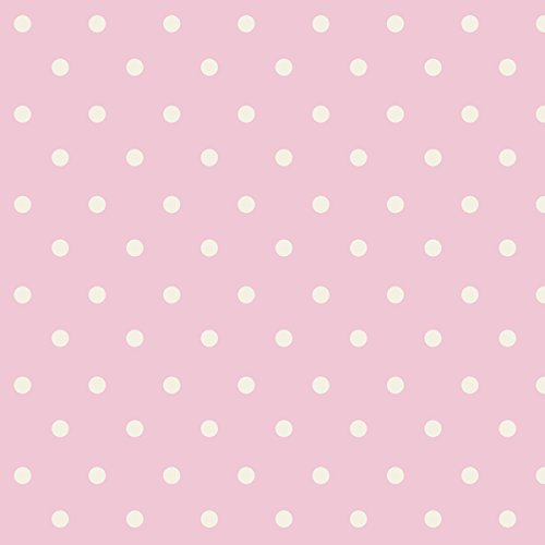 """Nursery Rhyme Toile 43/44"""" Wide 100% Cotton D/R-Nursery Rhyme Dot-Pink front-83647"""