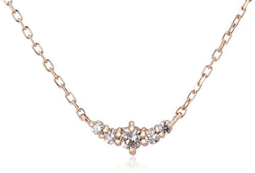 [VAヴァンドーム青山] VA VENDOME AOYAMA K18 ピンクゴールド ダイヤモンド ネックレス GGAN003740DI
