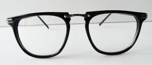Ymid Select レトロ風めがね黒,眼鏡