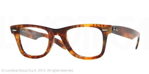 Ray-Ban Wayfarer Glasses in Yellow Havana - RX5121 2291 50