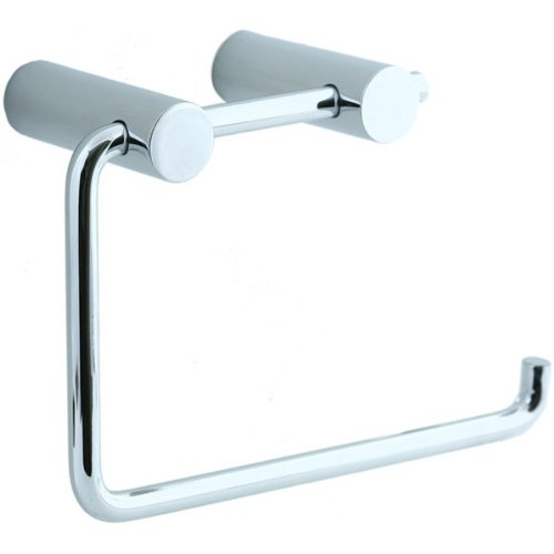 Cifial 422.655.625 Techno Straight Two-Post Toilet Paper Holder, Polished Chrome (Cifial Techno Faucet compare prices)