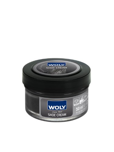Woly Woly Shoe Cream Polish Medium (Black)