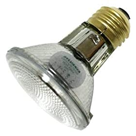 Sylvania #14700 50-watt PAR20 wide flood halogen bulb