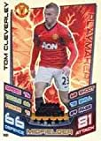Match Attax Extra 2012/2013 M8 Tom Cleverley Manchester United 12/13 Man Of The Match