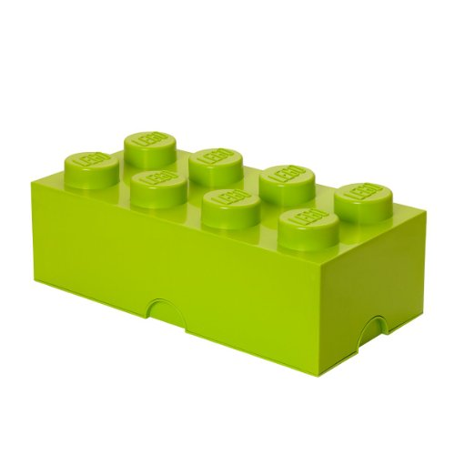 LEGO Friends Storage Brick 8, Lime Green - 1
