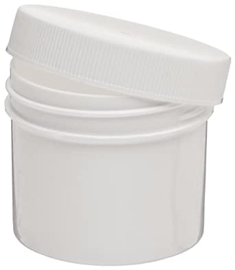Dynalon Polypropylene Lab Specimen and Sample Storage Jar/Container, White