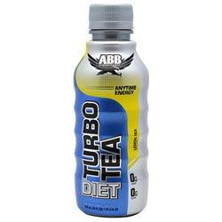 ABB Diet Turbo Tea Lemon Tea 24 - 18 fl oz (532 ml) 1 pt 2 fl oz bottles