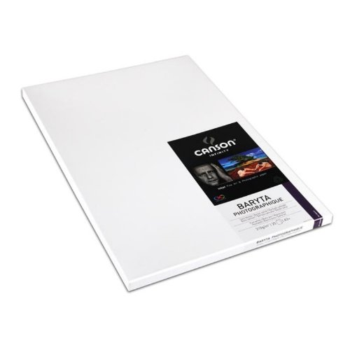 Canson Infinity Baryta Photographique, 310gsm, A3+ 25 sheets