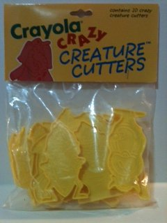 Crayola Crazy Creatures Cutters (10 pack) - 1
