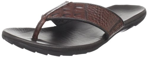 David Spencer Men's Santiago Sandal,Sport Rust,12 M US