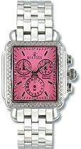 Women Watch Sartego SDPK399S Stainless Steel Case and Bracelet Diamond Chronogr