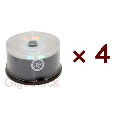200pcs ProDisc Spin-X Mini 3 8cm DVD-R 4X 1.4GB 30min Silver Shiny Blank Media PN