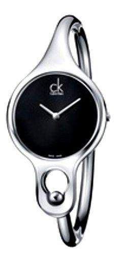 Calvin Klein Air Bangle K1N22102 Stainless Steel Case Steel Bracelet Women's Watch