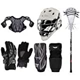 Warrior Tempo Elite Lacrosse Starter Package - Gloves, Shoulder Pads, Arm Pads, Stick & Helmet