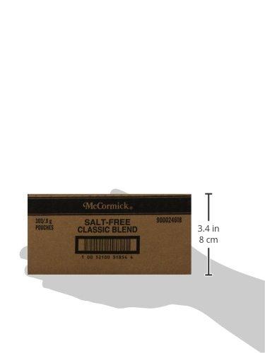 McCormick Classic Blend  All Purpose Seasoning (Salt Free), .8 g, 300-Count inov 8 сумка all terrain kitbag black