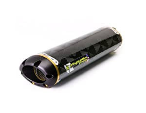 Two Brothers Racing (005-1810407V) Standard Series Slip-On Exhaust System with M-2 Carbon Fiber Canister