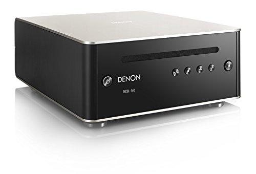 DENON CDプレーヤー D/Aコンバーター搭載 MP3/WMAファイル再生対応 プレミアムシルバー DCD-50SP