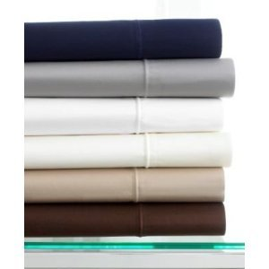 Hotel Collection Single Cording Queen Flat Sheet in White