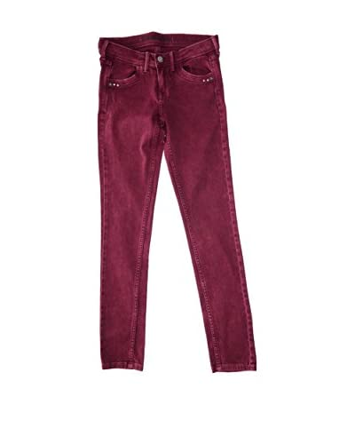 Pepe Jeans London Pantalone Melissa [Rosso Scuro]