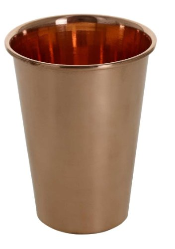 Copper Tumbler Glass For Healing Ayurvedic Product 12 Ounce front-633510