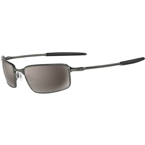 Oakley Titanium Square Wire Men's Polarized Sportswear Sunglasses