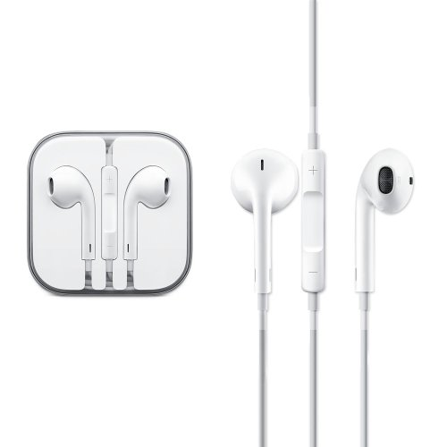 100% Genuine Original Oem Apple Iphone 5 5S Earpods Earphones Handsfree W/ Mic Md827Ll/A