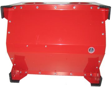 80psi Abrasive Sandblaster Cabinet 5cfm Tabletop
