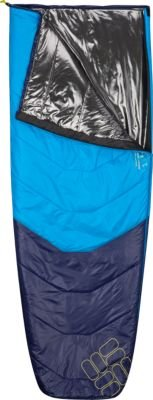 Columbia Raditor 40 Semi-Rec Eclipse Blue Sleeping Bag (Regular, Right Hand)