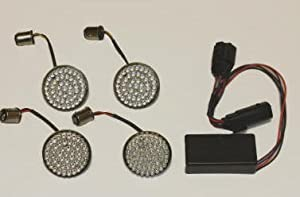 Complete LED Turn Signal Conversion Kit For 2010-2013 Street Glide / Road Glide Custom (non-CVO models)