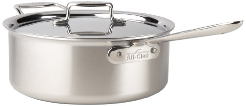 all clad All-Clad Brushed Stainless D5 6-Quart Deep Saute Pan with Lid at Sears.com